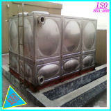 Ss 316 SS304 vormen de Tank van het Water van het Roestvrij staal voor de Behandeling van het Water