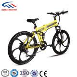 الصين كهربائيّة يطوي دراجة لأنّ جبل