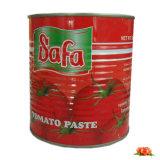 Sauce tomate de la Chine Hotsell de nourriture en boîte de l'Afrique