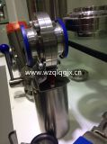 Acero inoxidable neumático Válvula de control sanitario motorizado