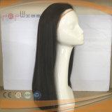 Il doppio annoda la parrucca piena del merletto delle donne naturali di colore (PPG-l-0098)