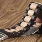 Reloj unisex del cuarzo de la muñeca del reloj de madera de moda