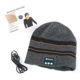 Weicher warmer Musikbeanie-Hut drahtloser Bluetooth intelligenter Schutzkappen-Kopfhörer-Lautsprecher Mic neu
