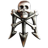Su ordinazione morire il distintivo impressionante con la placcatura d'argento
