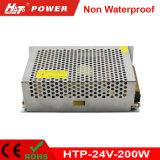 fuente de alimentación de 24V 8A LED con Htp-Series del Bis de RoHS del Ce