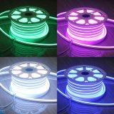 Illuminazione cambiante di festa della flessione di RGB dell'indicatore luminoso LED di colore chiaro esterno impermeabile al neon della stringa