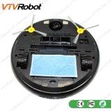 Robô Home esperto do vácuo do líquido de limpeza de Vtvrobot sem controle do APP