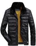 2017人のための熱い販売の冬PUの革ジャケット