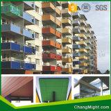 Muebles de HPL/los paneles de la ducha/material de construcción laminados