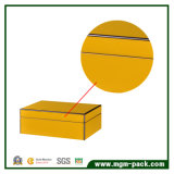شعبيّة نمو أصفر يحزم خشبيّ هبة قلم صندوق