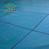 Protección de 0,3 mm de invierno cubierta de malla de seguridad para piscinas enterrada