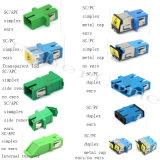 De hete het Sc-Type van Verkoop LC Om3 Optische Adapter van de Vezel van mm Duplex