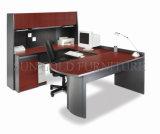 Gerenciador de mobiliário de escritório moderno design de mesa com estante (SZ-ODT613)