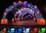 고품질 LED 가벼운 수영풀 밧줄 빛을 바꾸는 색깔 100 미터