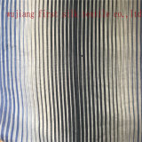 Silk Baumwollgarn färbte Streifen-Gewebe, Garn gefärbtes Streifen-Gewebe