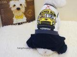 애완 동물 우연한 귀여운 개 강아지 t-셔츠 도매 사랑스러운 새로운 디자인 애완 동물 제품 개는 개 옷 형식 애완견 만화를 입힌다
