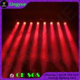 8PCS 12W RGBW 4in1 bewegliches Stab-Licht des Konzert-Stadium DJ-Geräten-LED