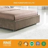 В003 простой мебелью коричневого цвета ткани кровать