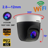 PTZ IP-Kamera WiFi 4X drahtlose HD 1080P 2.0MP 16GB Kamera des Summen-