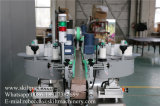 Machine à étiquettes automatique double côté pour la bouteille carrée