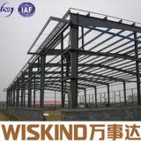 El acero ligero prefabricado la estructura vertió/de la vertiente del metal para el taller