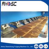 중국 기계 최고 3 미터 금속 장 롤 Groover, CNC v 강저 기계