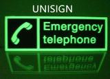 Muestras de seguridad para el teléfono Emergency