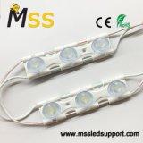Resistente al agua ultra brillante 2.8W Módulo lateral de la caja de luz doble pantalla de alta potencia de los módulos LED blanco