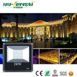 세륨 RoHS IP65 20W 건물 점화 투광램프