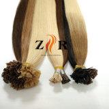Estensione brasiliana pre legata dei capelli umani di Remy di punta della cheratina U