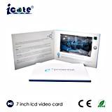 Heißer Verkauf! 7 Zoll LCD-Hochzeits-Broschüre-Gruß-Broschüre-videogruß-Karten-Geschenke