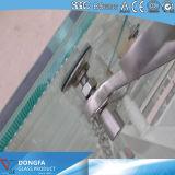 Flat 8mm+1.52PVB+8mm (17.52mm) Vidro laminado temperado para o Vidro da Porta