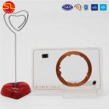 Fréquence double en plastique RFID carte avec puce S50 TK4100
