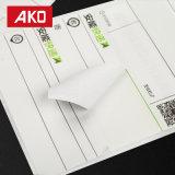 Étiquettes directes de logistique d'étiquettes d'expédition d'usine d'excellent de qualité papier de desserrage