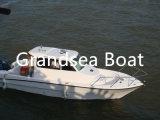 A pesca de fibra de barcos de cabina para venda