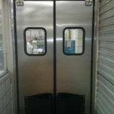 Resistente ao impacto da Porta Giratória com porta de aço da janela de segurança