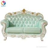 Esponja de espuma de couro grosso 2 Lugares Sofá Cadeira duplo