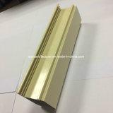Quadrat, rundes, unterschiedliches Aluminiumlegierung-Strangpresßling-Profil für Tür und Fenster-Gefäß 108