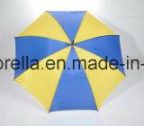 USD 1.20 Marchandises en main, grand parapluie, double côtes en noir, noir de l'arbre en métal, poignée en plastique