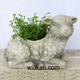 Flowerpots отделки гранита Figurine Hedgehog для сбывания