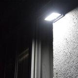 42 la lampe solaire extérieure sans fil IP65 PIR de lumière solaire de détecteur de DEL imperméabilisent la lumière d'admission de détecteur solaire