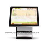 """Registratore di cassa capacitivo dello schermo di tocco di alta qualità 15 di Icp-Ew11sj doppio """" per il sistema/supermercato/ristorante/al minuto di posizione"""