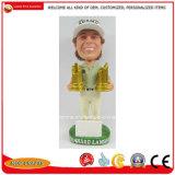 Lo sport di Polyresin Bobble la bambola capa per i regali promozionali del ricordo