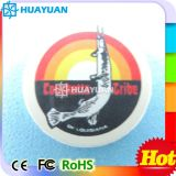 Étiquette transparente industrielle de disque d'IDENTIFICATION RF de PVC LF 125kHz TK4100