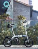 Bici elettrica del dispositivo di piegatura di Kupper Rubik con qualità della batteria di ione di litio di Panasonic buona