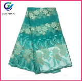 服のための高品質の刺繍のテュルのレースファブリック
