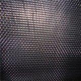 Acoplamiento de alambre negro del hierro del negro del paño de alambre para el aire y el filtro del líquido