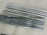 Wl10 superficie negra electrodos de wolframio 800-1100mm de longitud de la Federación de clientes