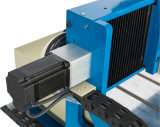 4 Mittellinien-hölzerner Gravierfräsmaschine CNC-Servomotor