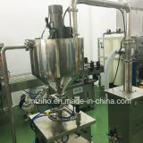 Calefacción neumática que mezcla la máquina de rellenar cosmética de la crema de la loción de Pasteointment